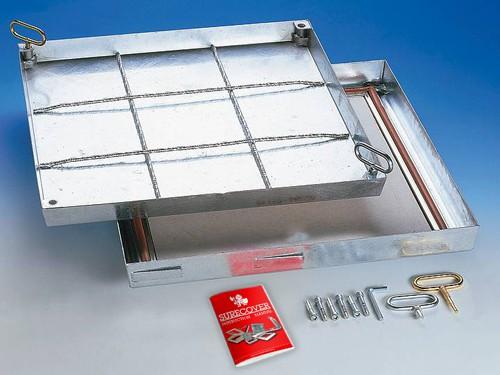 SBV - F90 Galvanised Steel Floor Access Cover