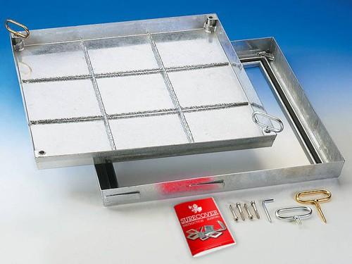 SBV Steel Galvanised Floor Access Cover