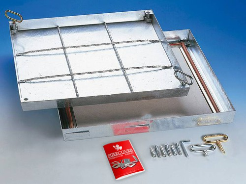 SBVE- F90 Stainless Steel Floor Access Cover