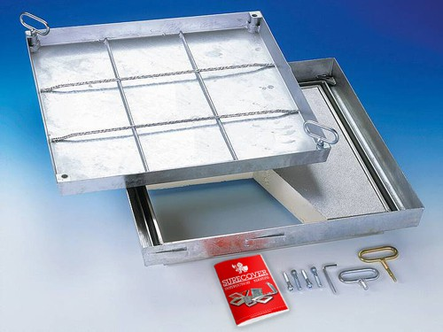 SBVE-Thermo Stainless Steel Floor Access Cover