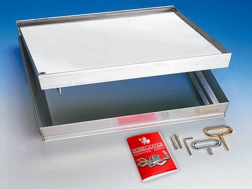 SCCA Composite Comfort Alu - Shut Vent Floor Access Cover
