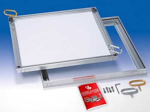 SCLA-SL Slim comp light Aluminium - Floor Access Cover