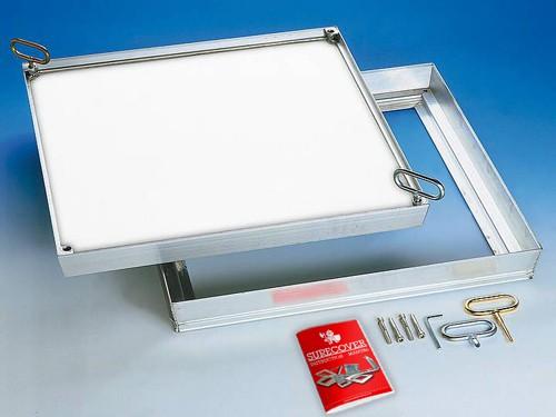 SCLA composite light Aluminium Floor Access Cover