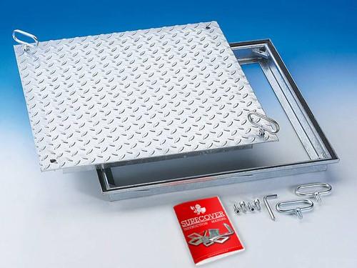 SRV Galvanised Steel Floor Access Cover
