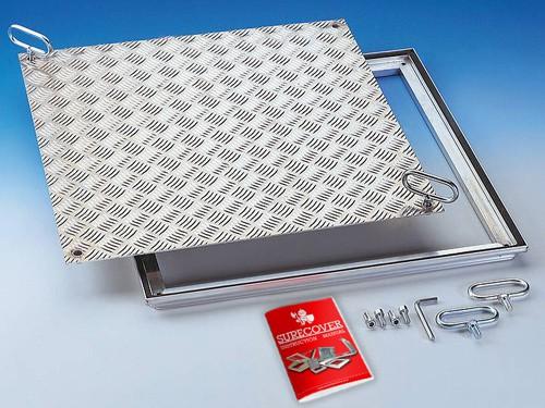 SRVA Aluminium Floor Access Cover