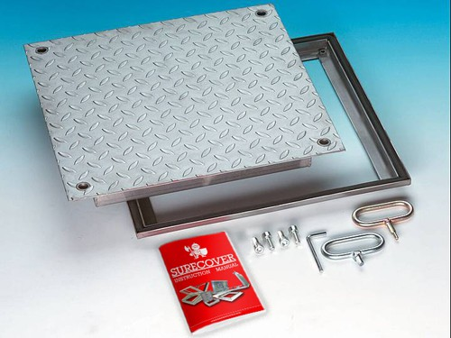 SRVE Stainless Steel Floor Access Cover