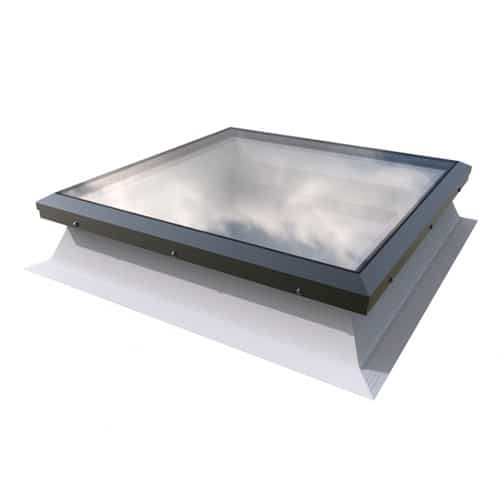 Fixed-Flat-Glass-Rooflight-with-150mm-Kerb