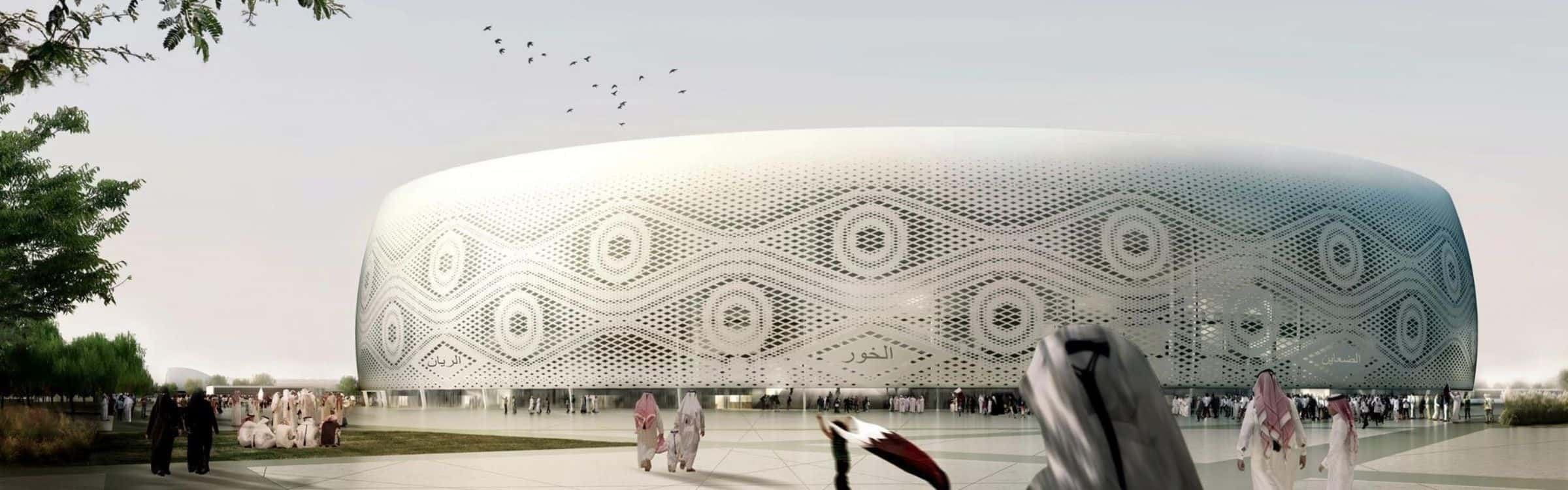 Al Thumama Stadium - Surespan Case Studies