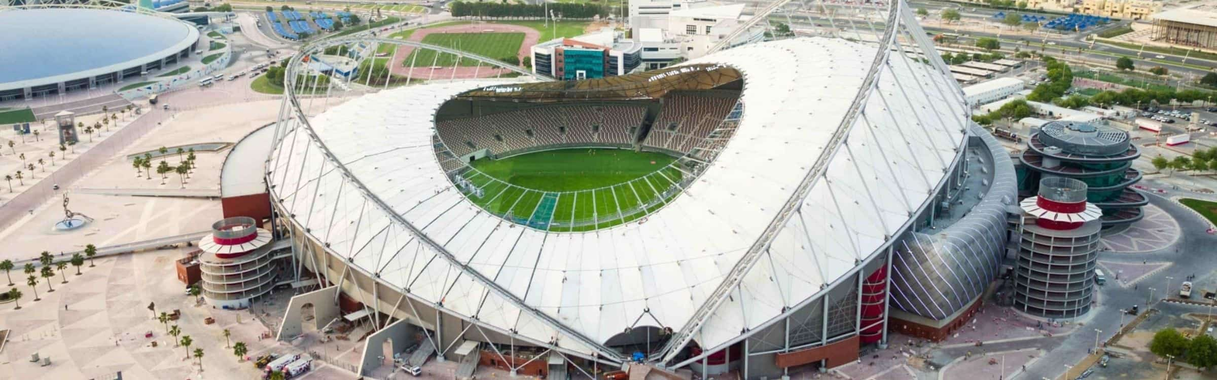 Khalifa International Stadium - Surespan Case Studies
