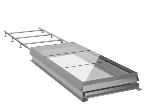 SLHG Sliding Rooflight - Sliding Glazed Access | Surespan