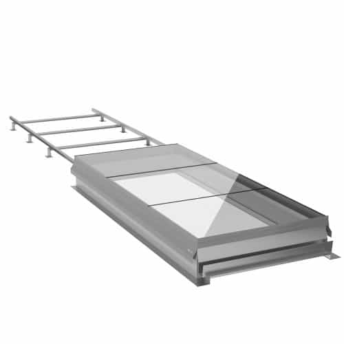 SLHG Sliding Rooflight - Sliding Glazed Access | Surespan