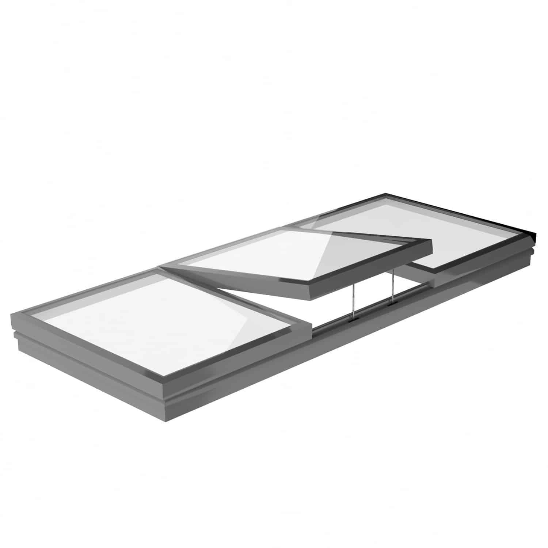 SureLink Modular Glass Rooflights - Fixed Flat Glass Rooflight | Surespan