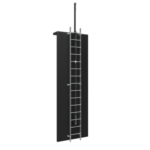Vertical Ladder with Fall Arrest System 1500 x 1500